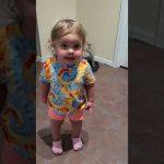 Little Girl Vehemently Denies Touching Dog Food